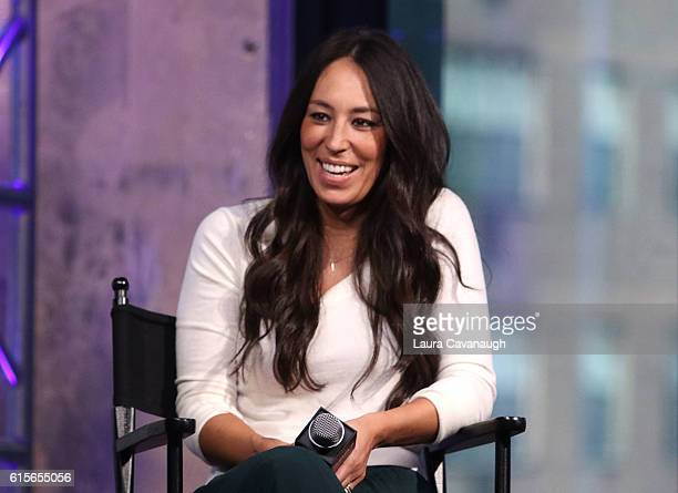 Joanna Gaines attends The Build Series to discuss 'The Magnolia Story' at AOL HQ on October 19 2016 in New York City