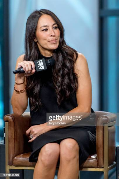 Joanna Gaines discusses 'Capital Gaines Smart Things I Learned Doing Stupid Stuff' and the ending of the show 'Fixer Upper' with the Build Series at...