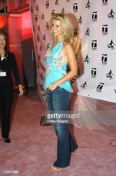 Joanna Garcia of 'Reba' during WTA Glam Slam New York City 2004 at Ruby Falls in New York City New York United States