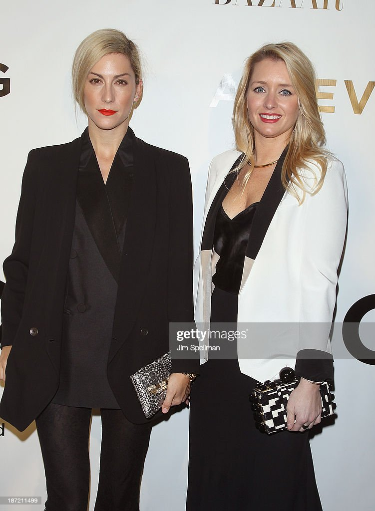 Joanna Hillman and Joyann King attend An Evening Honoring Karl Lagerfeld at Alice Tully Hall on November 6, 2013 in New York City.