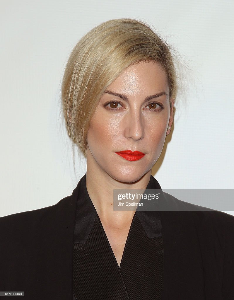 Joanna Hillman attends An Evening Honoring Karl Lagerfeld at Alice Tully Hall on November 6, 2013 in New York City.