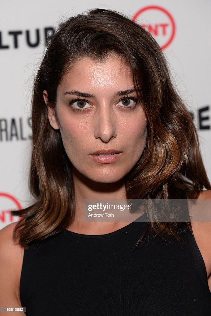 Joanna Janetakis attends the 'Public Morals' New York series screening at Tribeca Grand Screening Room on August 12, 2015 in New York City.