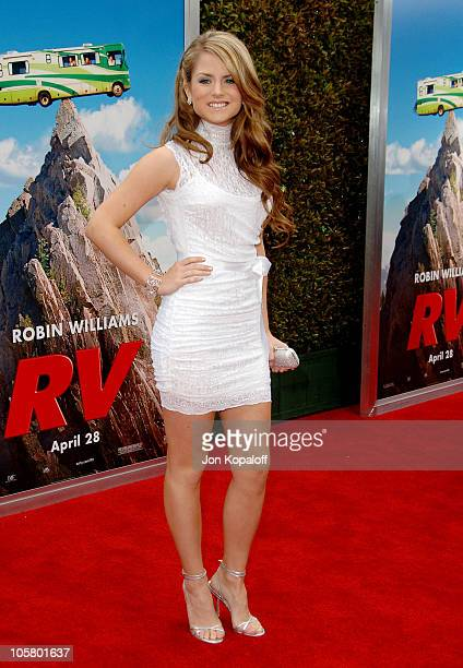 Joanna 'JoJo' Levesque during 'RV' Los Angeles Premiere Arrivals at Mann Village Theatre in Westwood California United States