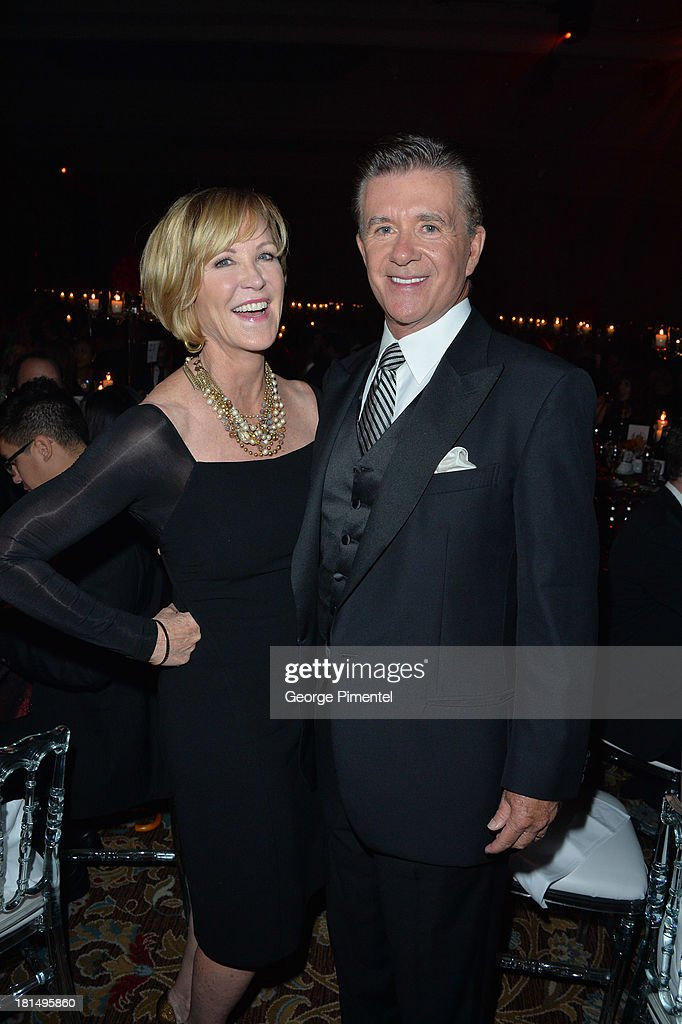 Joanna Kerns and Alan Thicke attend Canada's Walk Of Fame After Party at The Sheraton Hotel on September 21, 2013 in Toronto, Canada.