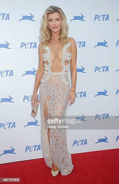 Joanna Krupa arrives at PETA's 35th Anniversary Party at Hollywood Palladium on September 30 2015 in Los Angeles California