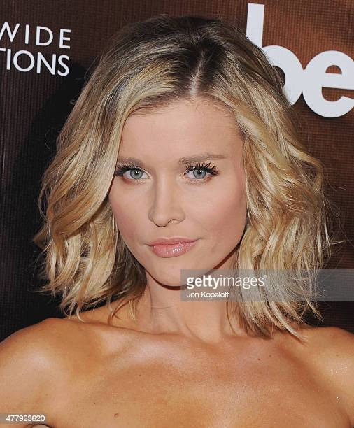 Joanna Krupa arrives at the 10th Anniversary Of 'Dancing With The Stars' Party at Greystone Manor on April 21 2015 in West Hollywood California