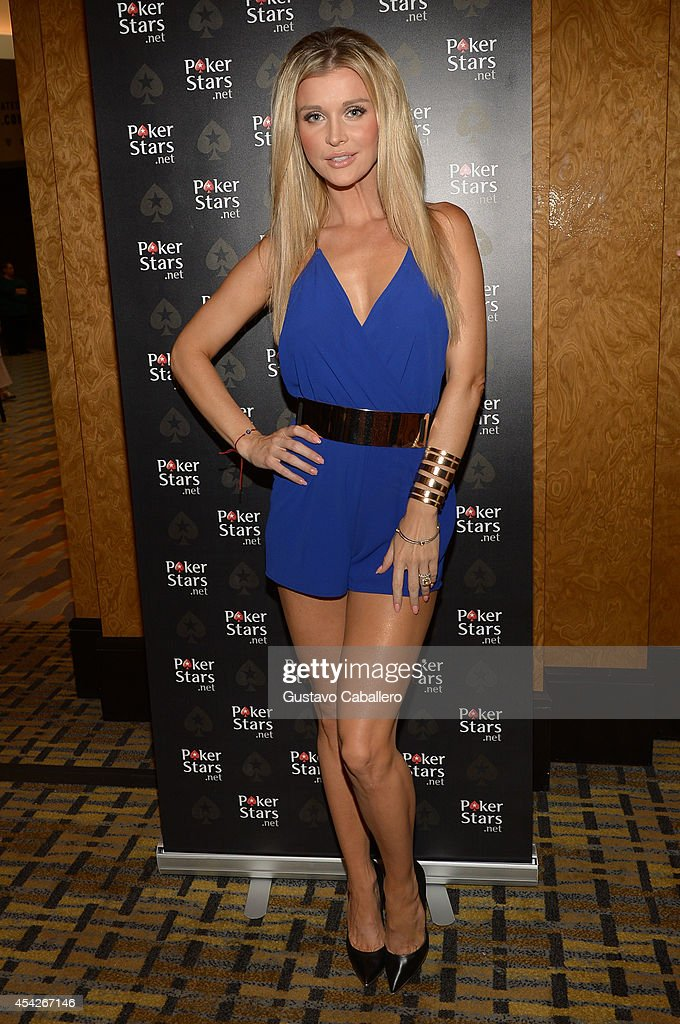 Joanna Krupa attends Hollywood Charity Series Of Poker Supported By PokerStars To Benefit Habitat For Humanity at Seminole Hard Rock Hotel & Casino & Hard Rock Cafe Hollywood on August 27, 2014 in Hollywood, Florida.