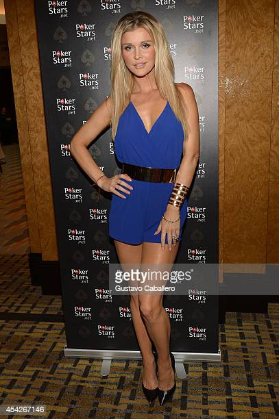 Joanna Krupa attends Hollywood Charity Series Of Poker Supported By PokerStars To Benefit Habitat For Humanity at Seminole Hard Rock Hotel Casino...