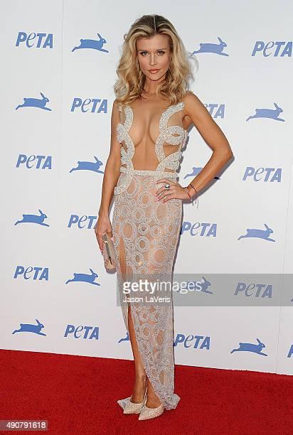 Joanna Krupa attends PETA's 35th anniversary party at Hollywood Palladium on September 30 2015 in Los Angeles California