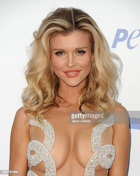 Joanna Krupa attends PETA's 35th anniversary party at Hollywood Palladium on September 30 2015 in Los Angeles California
