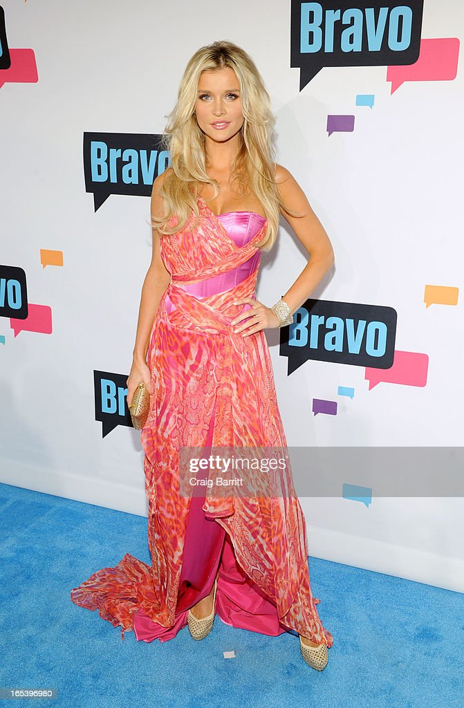 Joanna Krupa attends the 2013 Bravo New York Upfront at Pillars 37 Studios on April 3, 2013 in New York City.
