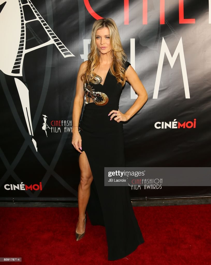 Joanna Krupa attends the 4th Annual CineFashion Film Awards on October 08, 2017 in Los Angeles, California.