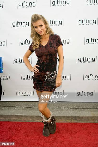 LOS ANGELES CA NOVEMBER 24 Joanna Krupa attends the Dancing With The Stars Season 9 Finale Honored By Gifting Services Day 2 on November 24 2009 in...