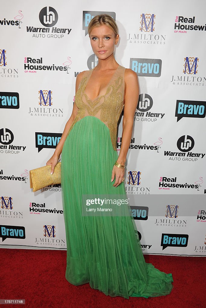 Joanna Krupa attends 'The Real Housewives of Miami' season 3 premiere party on August 6, 2013 in Miami, Florida.
