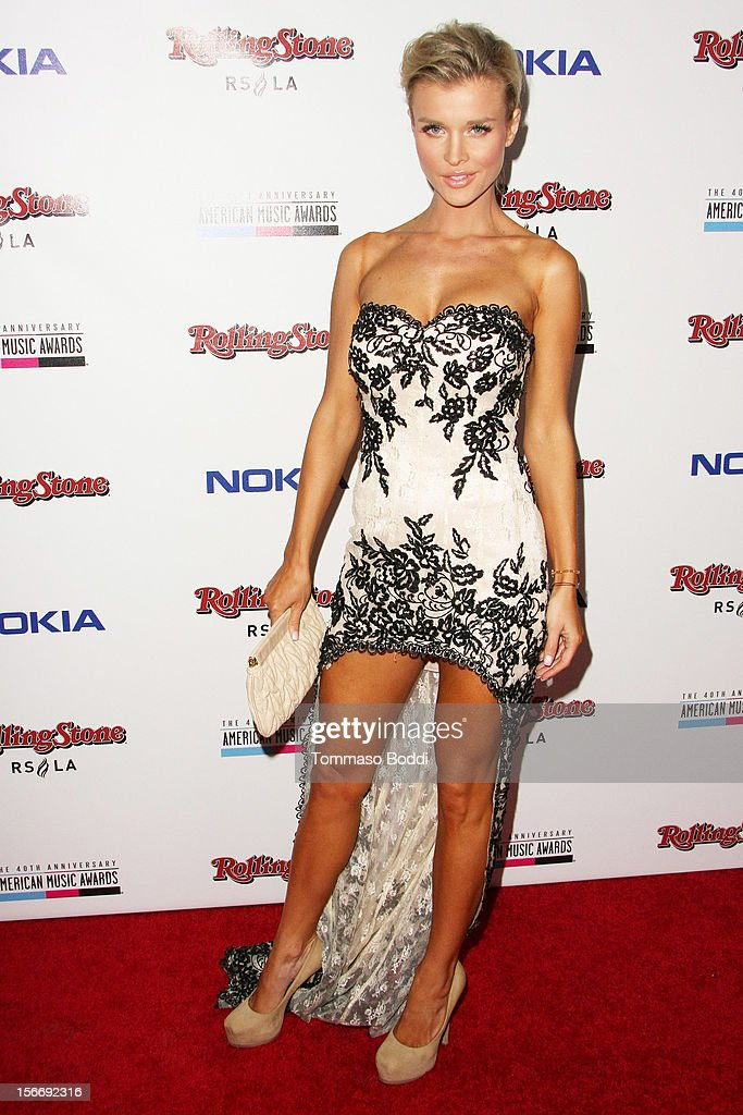 Joanna Krupa attends the Rolling Stone after party for the 2012 American Music Awards presented by Nokia and Rdio held at the Rolling Stone Restaurant And Lounge on November 18, 2012 in Los Angeles, California.