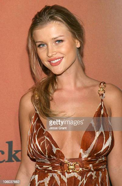 Joanna Krupa during Jane Magazine's 'Go Naked' Party Arrivals at Private Residence in Beverly Hills California United States