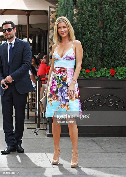 Joanna Krupa is seen on March 10 2015 in Los Angeles California