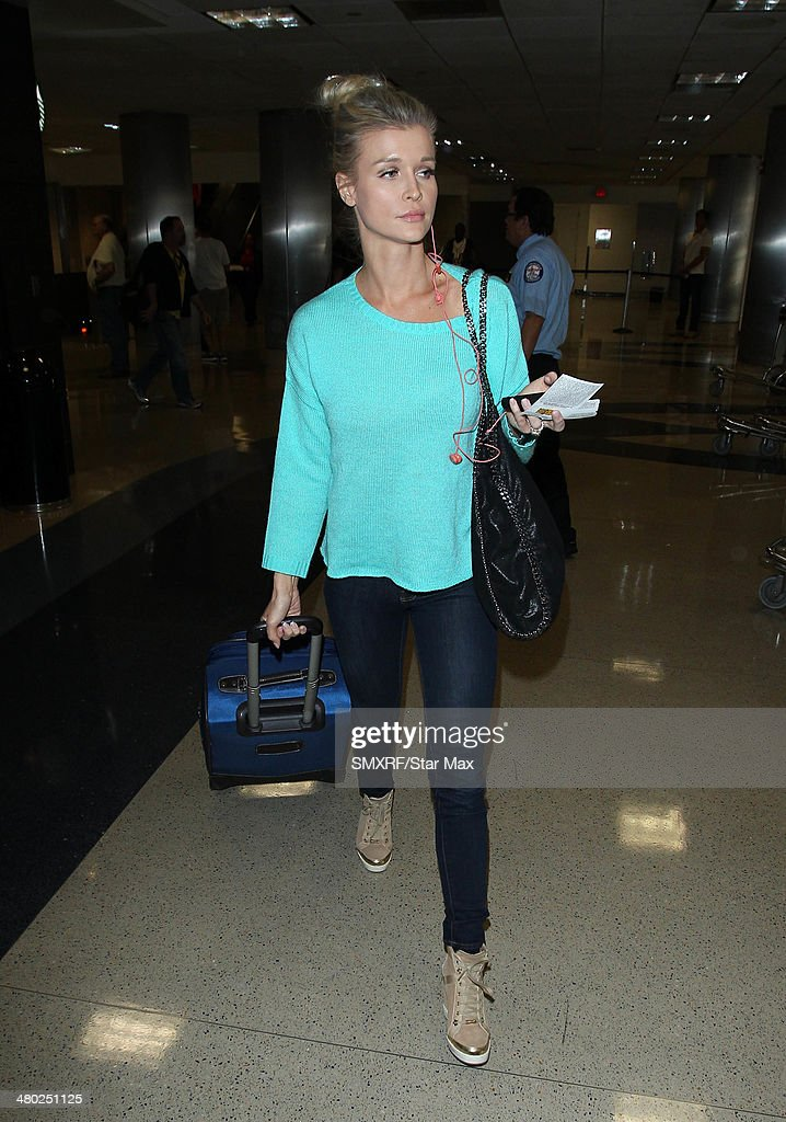 Joanna Krupa is seen on March 22, 2014 in Los Angeles, California.