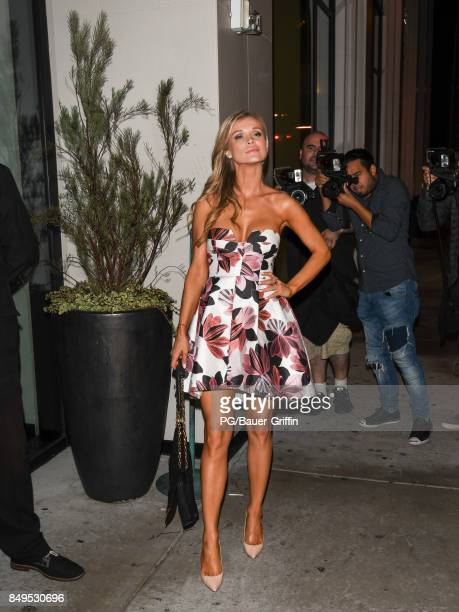 Joanna Krupa is seen on September 19 2017 in Los Angeles California