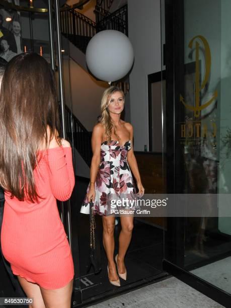 Joanna Krupa is seen on September 19 2017 in Los Angeles California