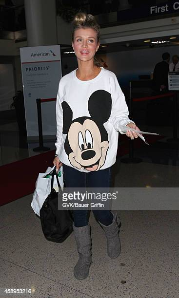 Joanna Krupa seen at LAX on November 13 2014 in Los Angeles California
