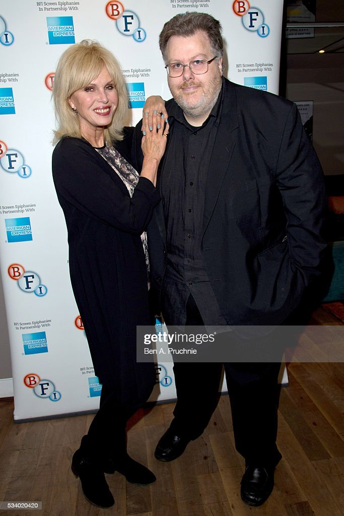 <a gi-track='captionPersonalityLinkClicked' href=/galleries/search?phrase=Joanna+Lumley&family=editorial&specificpeople=206307 ng-click='$event.stopPropagation()'>Joanna Lumley</a> and Justin Johnson poses for photographs ahead of introducing Ralph Thomas's adaptation of the classic Dickens novel 'A Tale of Two Cities' during a screen epiphanies session at BFI Southbank on May 24, 2016 in London, England.
