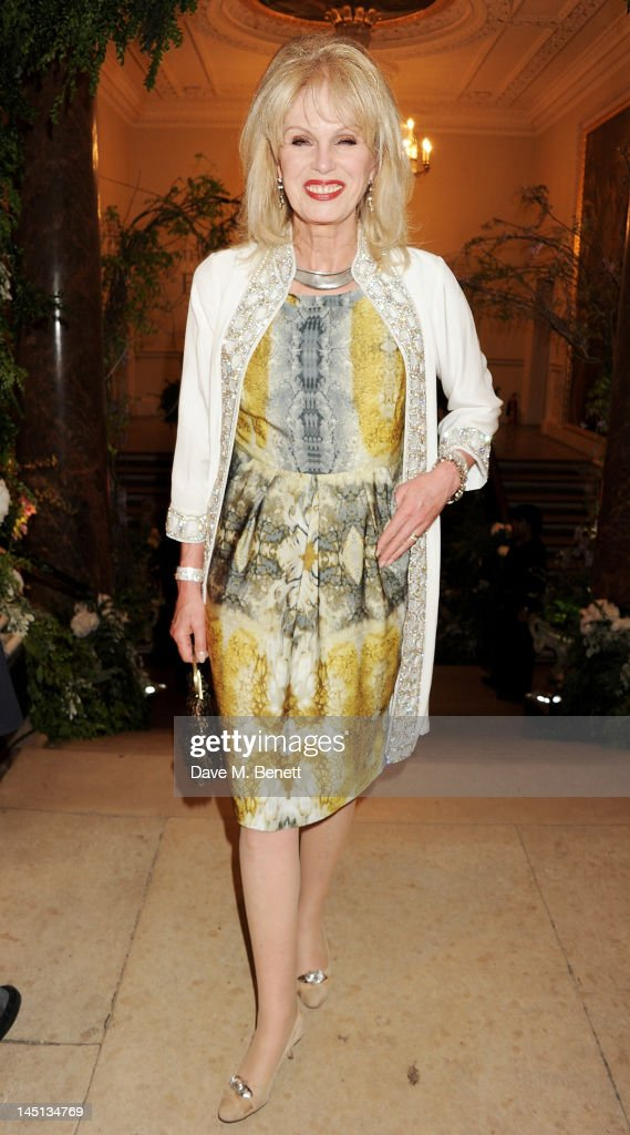 <a gi-track='captionPersonalityLinkClicked' href=/galleries/search?phrase=Joanna+Lumley&family=editorial&specificpeople=206307 ng-click='$event.stopPropagation()'>Joanna Lumley</a> attends 'A Celebration Of The Arts' at Royal Academy of Arts on May 23, 2012 in London, England.