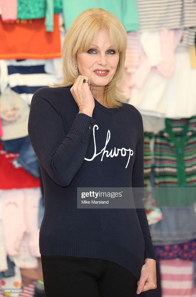 <a gi-track='captionPersonalityLinkClicked' href=/galleries/search?phrase=Joanna+Lumley&family=editorial&specificpeople=206307 ng-click='$event.stopPropagation()'>Joanna Lumley</a> attends a photocall to launch the M&S 'Love, Mum' shwopping campaign in conjunction with Oxfam at Marks & Spencer Marble Arch on February 4, 2014 in London, England.