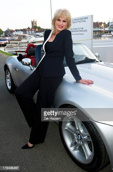 Joanna Lumley attends Day 4 of The Henley Festival on July 13 2013 in HenleyonThames England