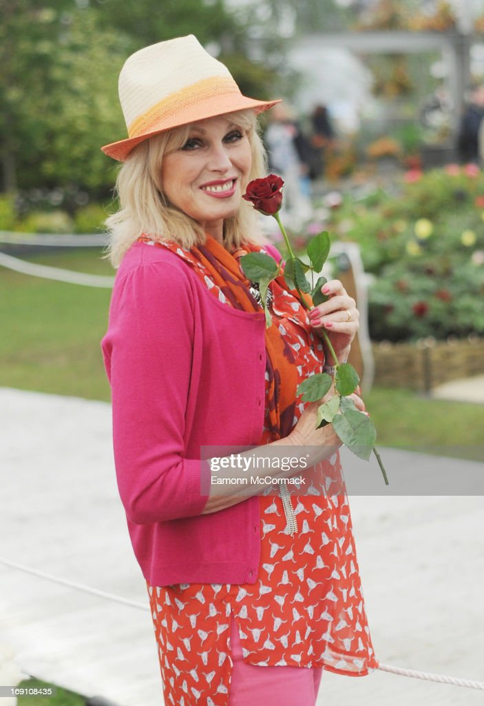<a gi-track='captionPersonalityLinkClicked' href=/galleries/search?phrase=Joanna+Lumley&family=editorial&specificpeople=206307 ng-click='$event.stopPropagation()'>Joanna Lumley</a> attends the Chelsea Flower Show press and VIP preview day at Royal Hospital Chelsea on May 20, 2013 in London, England.