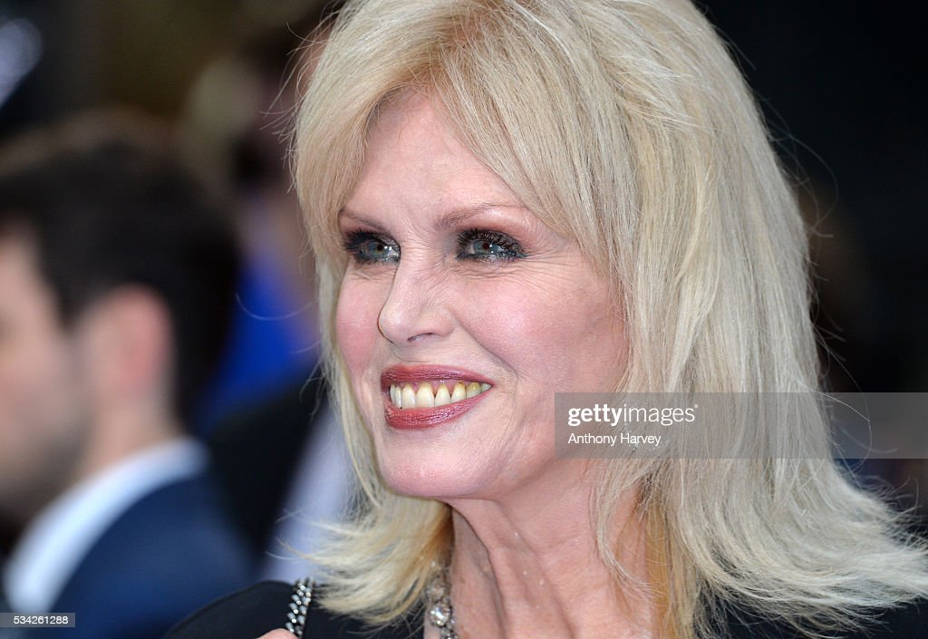 <a gi-track='captionPersonalityLinkClicked' href=/galleries/search?phrase=Joanna+Lumley&family=editorial&specificpeople=206307 ng-click='$event.stopPropagation()'>Joanna Lumley</a> attends the European film premiere 'Me Before You' at The Curzon Mayfair on May 25, 2016 in London, England.