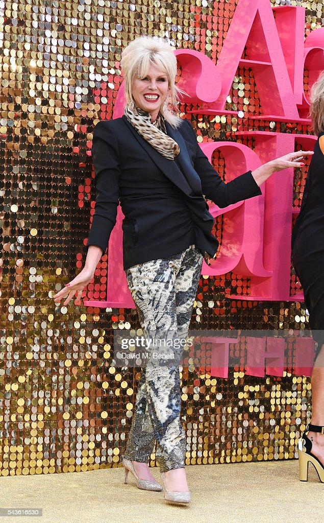 <a gi-track='captionPersonalityLinkClicked' href=/galleries/search?phrase=Joanna+Lumley&family=editorial&specificpeople=206307 ng-click='$event.stopPropagation()'>Joanna Lumley</a> attends the World Premiere of 'Absolutely Fabulous: The Movie' at Odeon Leicester Square on June 29, 2016 in London, England.