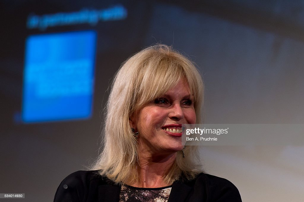 <a gi-track='captionPersonalityLinkClicked' href=/galleries/search?phrase=Joanna+Lumley&family=editorial&specificpeople=206307 ng-click='$event.stopPropagation()'>Joanna Lumley</a> introduces Ralph Thomas's adaptation of the classic Dickens novel A Tale of Two Cities during a screen epiphanies session at BFI Southbank on May 24, 2016 in London, England.