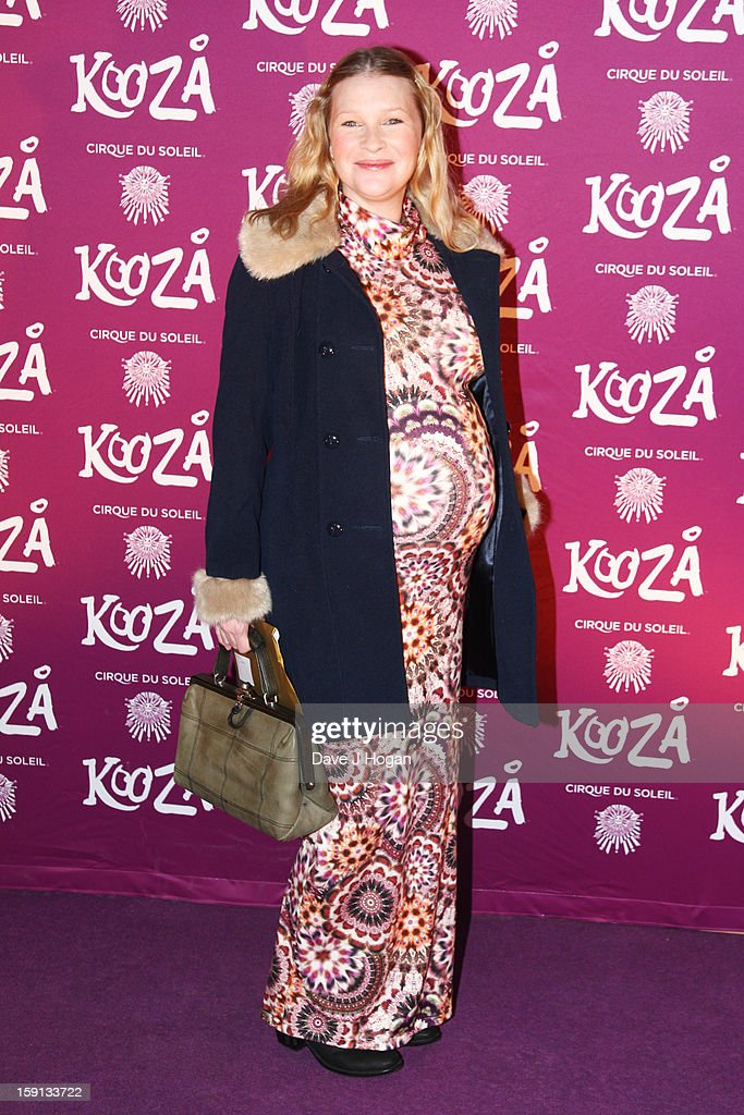 Joanna Page attends the opening night of Cirque Du Soleil's 'Kooza' at Royal Albert Hall on January 8, 2013 in London, England.