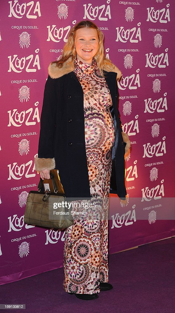 Joanna Page attends the opening night of Cirque Du Soleil's Kooza at Royal Albert Hall on January 8, 2013 in London, England.