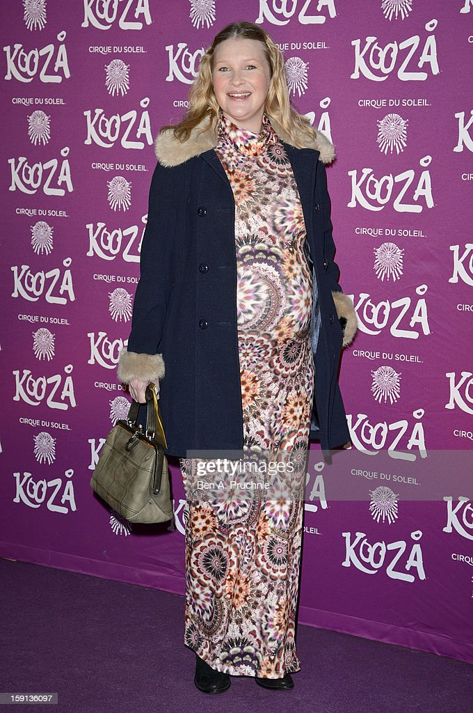 Joanna Page attends the opening night of Cirque Du Soleil's Kooza at the Royal Albert Hall on January 8, 2013 in London, England.