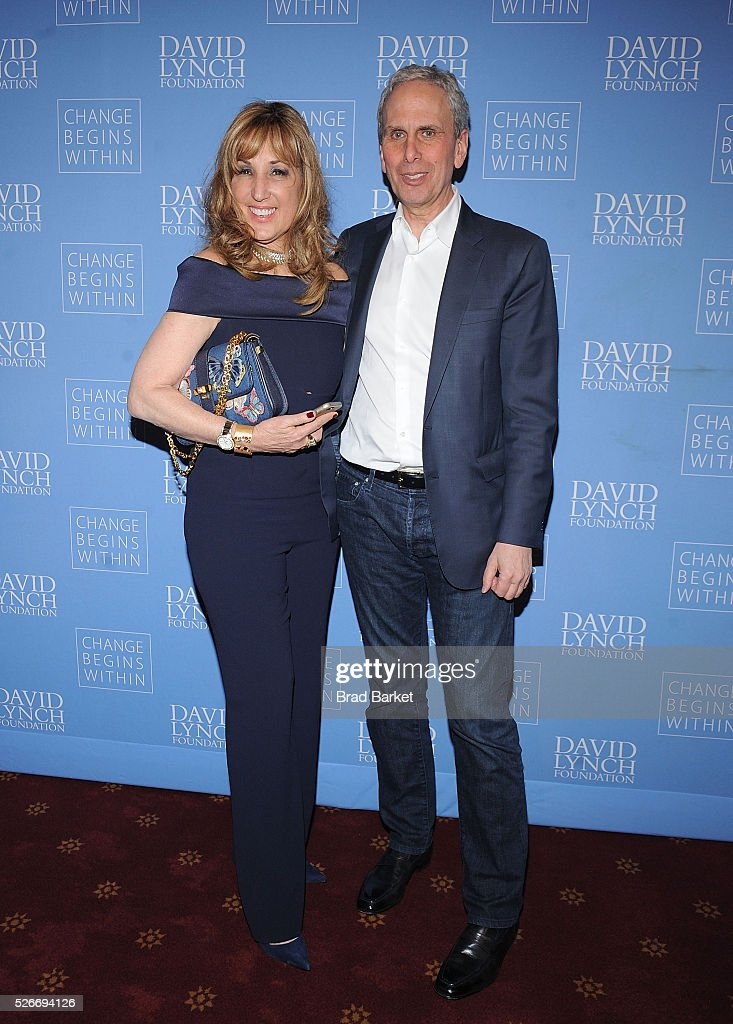 Joanna Plafsky (L) and Joanna Plafsky attend An Amazing Night Of Comedy: A David Lynch Foundation Benefit For Veterans With PTSD at New York City Center on April 30, 2016 in New York City.