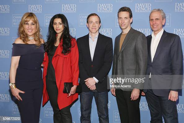 Joanna Plafsky Reshma Shetty Michael Rauch Ben Shenkman and Bob Roth attend An Amazing Night of Comedy A David Lynch Foundation Benefit for veterans...