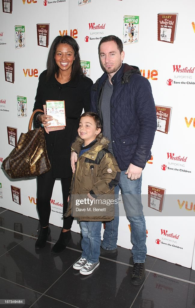 Joanna Riley attends 'Diary of a Wimpy Kid' UK dvd Premiere at Vue Westfield on December 02, 2012 in London, England.