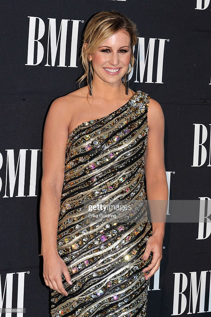 Joanna Smith attends the 60th annual BMI Country awards at BMI on October 30, 2012 in Nashville, Tennessee.