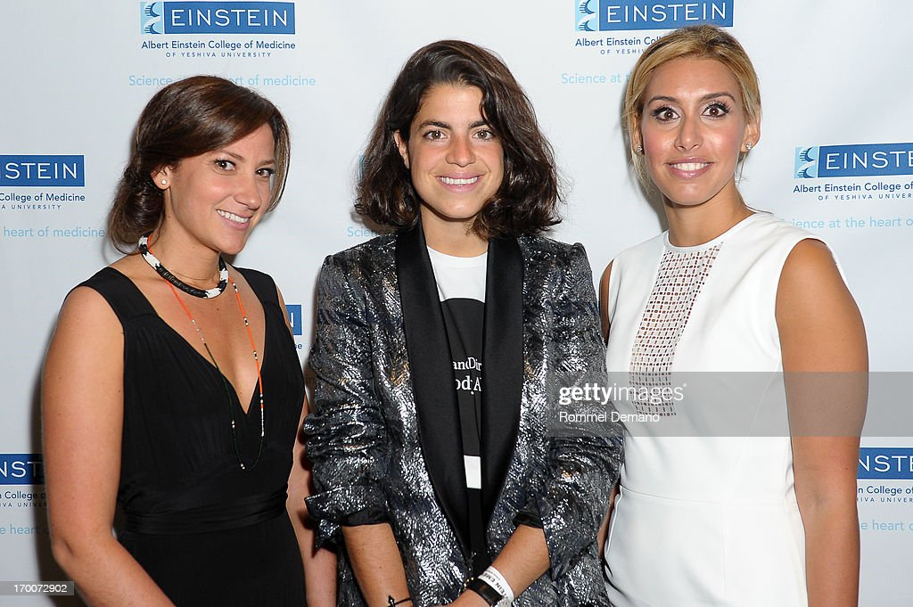 Joanna Steinberg, <a gi-track='captionPersonalityLinkClicked' href=/galleries/search?phrase=Leandra+Medine&family=editorial&specificpeople=7491795 ng-click='$event.stopPropagation()'>Leandra Medine</a> and Danielle Segal attend the Einstein Emerging Leaders 2nd Annual Gala at Dream Downtown on June 6, 2013 in New York City.