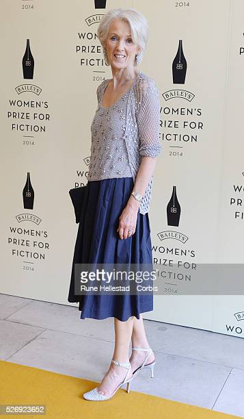 Joanna Trollope attends the 'Baileys Women's Prize For Fiction' at Royal Festival Hall