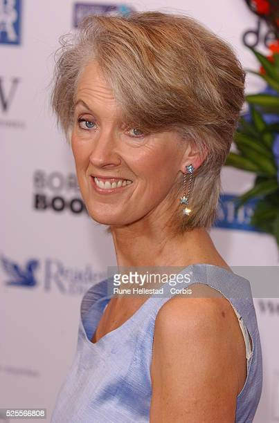 Joanna Trollope attends The British Book Awards at Grosvenor House Park Lane London