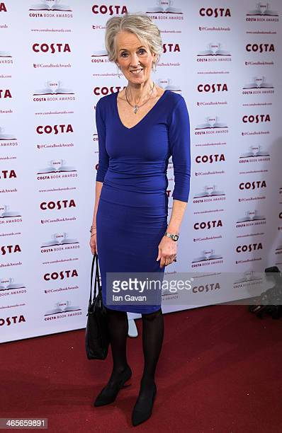 Joanna Trollope attends the Costa Book of the Year awards at Quaglino's on January 28 2014 in London England
