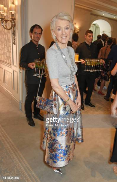 Joanna Trollope attends The South Bank Sky Arts Awards drinks reception at The Savoy Hotel on July 9 2017 in London England