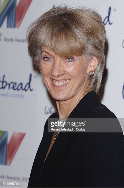 Joanna Trollope attends the Whitbread Book Awards