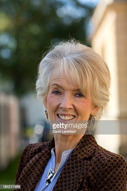 Joanna Trollope author at The Times Cheltenham Literature Festival on October 12 2013 in Cheltenham England