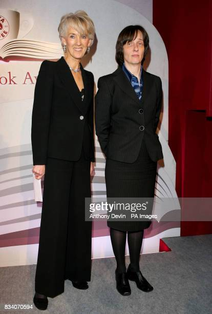 Joanna Trollope poses with AL Kennedy as she is named the overall winner at the Costa Book Awards for her book Day during the Costa Book Awards 2007...