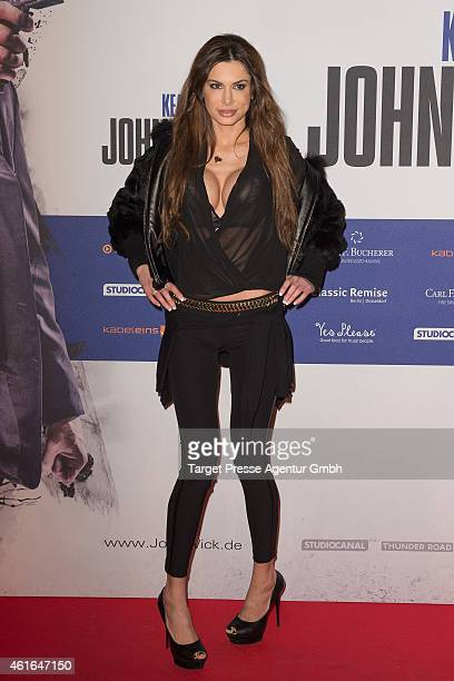 Joanna Tuczynska attends a special preview of the film 'John Wick' on January 16 2015 in Berlin Germany
