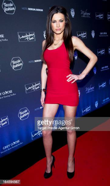 Joanna Tuczynska attends aftershow party to the german premiere of his movie 'All Things Fall Apart' at Hotel Berlin on March 24 2013 in Berlin...